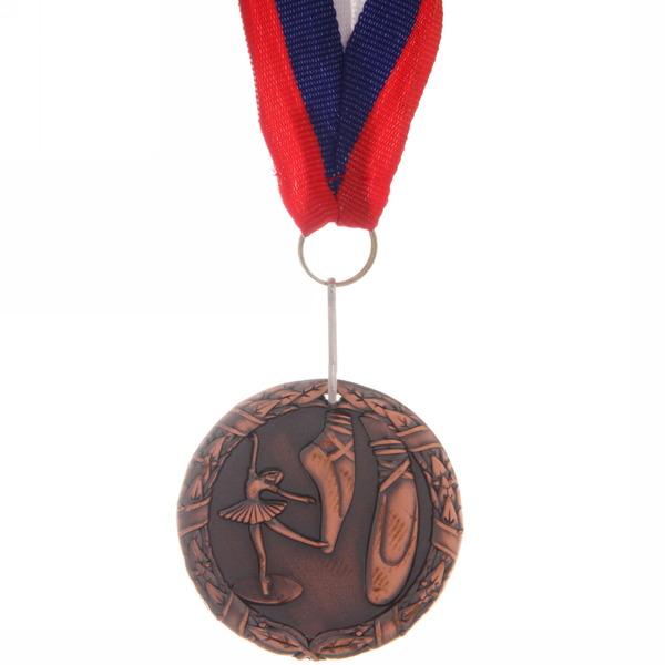 Медаль ″ Танцы ″- 3 место (4,5см) купить оптом и в розницу