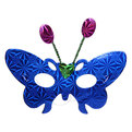 Маски карнавальные ″Голограмма ″ Бабочка усики 3шт купить оптом и в розницу