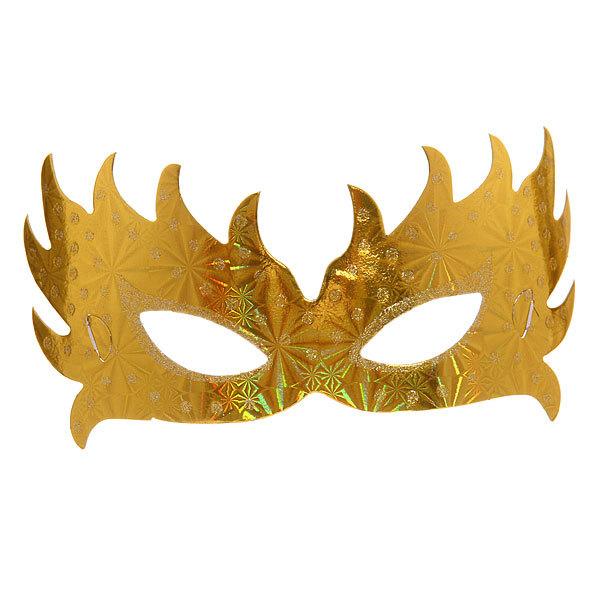 Маски карнавальные ″Голограмма″ Фейерверк 5шт купить оптом и в розницу