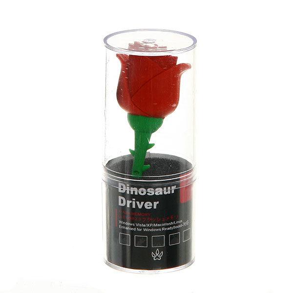 USB-флеш-накопитель ″Роза″ (2gb) купить оптом и в розницу