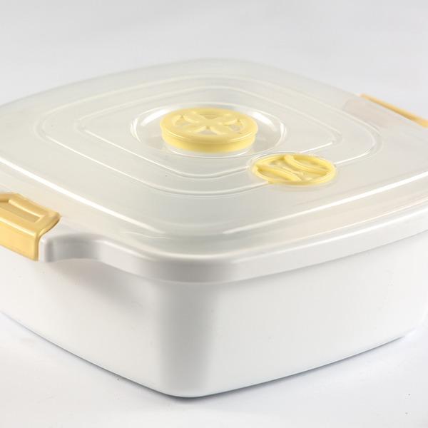 Контейнер для СВЧ с клапаном 3,5л 1/50 купить оптом и в розницу