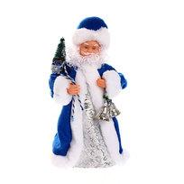 Дед Мороз музыкальный 25см с колокольчиком купить оптом и в розницу