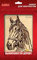Набор ДТ Выжигание в рамке Лошадь Вр-018 Lori купить оптом и в розницу