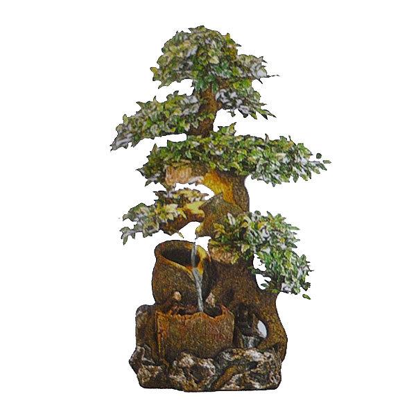Фонтан из полистоуна ″Дерево с кувшинами″ 40*27*78см DS301 купить оптом и в розницу