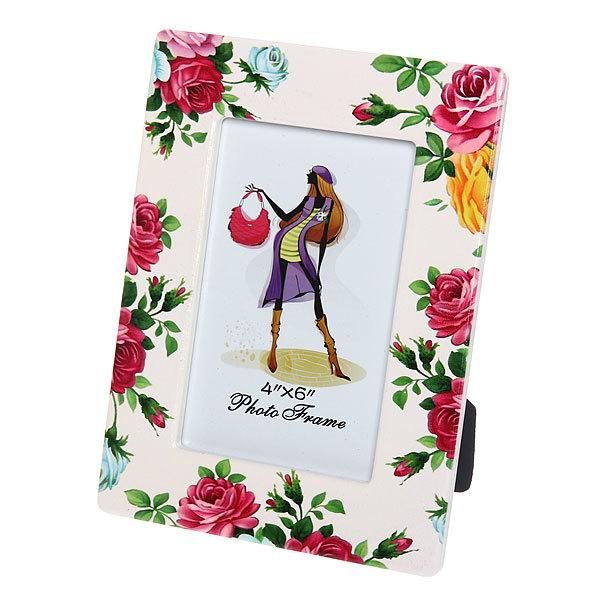 Фоторамка из керамики ″Розы″ 10*15 см купить оптом и в розницу