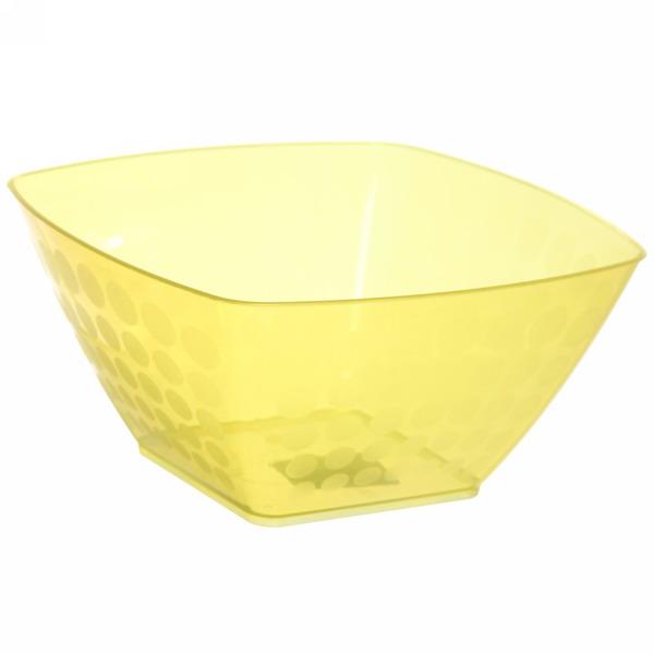 Салатник пластиковый ″Нуво″ 0,8л квадратный *40 купить оптом и в розницу