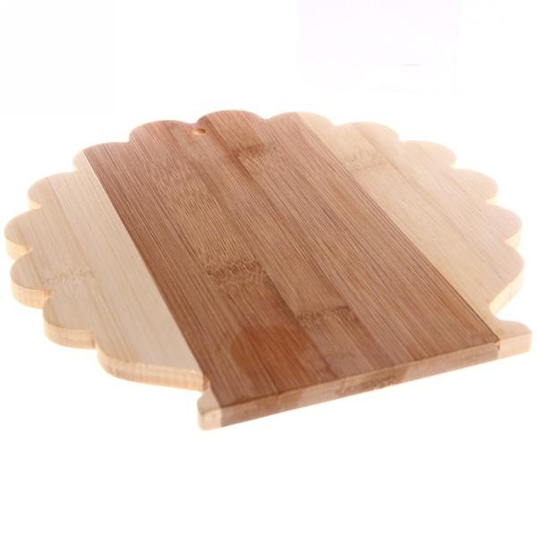 Доска разделочная из бамбука ″Дерево″ 22*22*1см купить оптом и в розницу