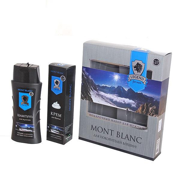 Подарочный набор ″Mont blanc″ (шампунь, крем для бритья) купить оптом и в розницу