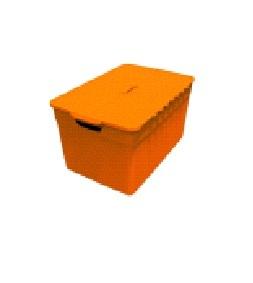Контейнер Pixxel 12л оранж./*5 шт  (34х23х21)см Curver купить оптом и в розницу