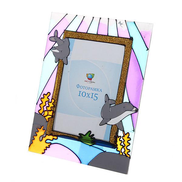 Фоторамка 10*15 ″Дельфины″ купить оптом и в розницу