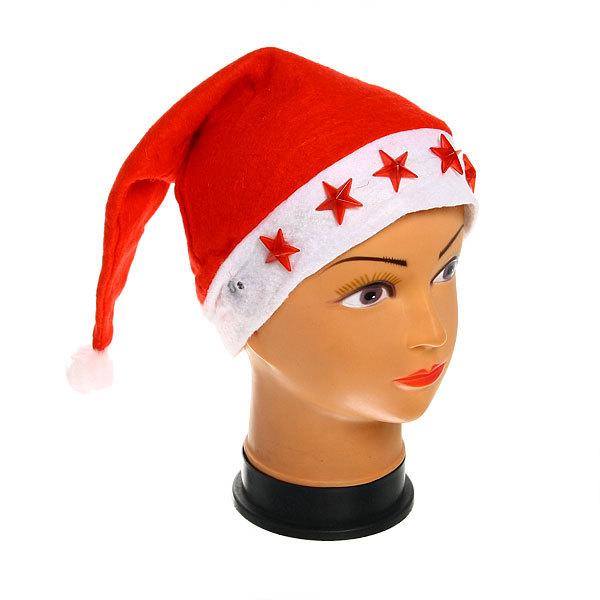 Колпак новогодний световой ″Рождественские звездочки″ 28*39см купить оптом и в розницу