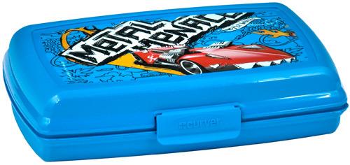 Емкость мультиснап (193*145*65)  1,3 л MATTELhot wheels  голубой Curver / *8шт купить оптом и в розницу