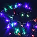 Гирлянда светодиодная 5,5м, 32 ламп LED, Колокольчик, RG/RB(красный,зеленый/красный,синий), ав.реж., пр. пров. купить оптом и в розницу