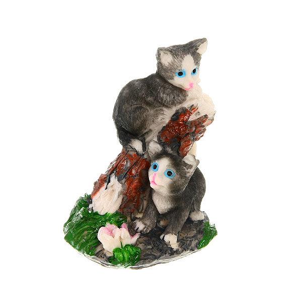Фигурка ″Кошечки играют″ 11*8 см купить оптом и в розницу