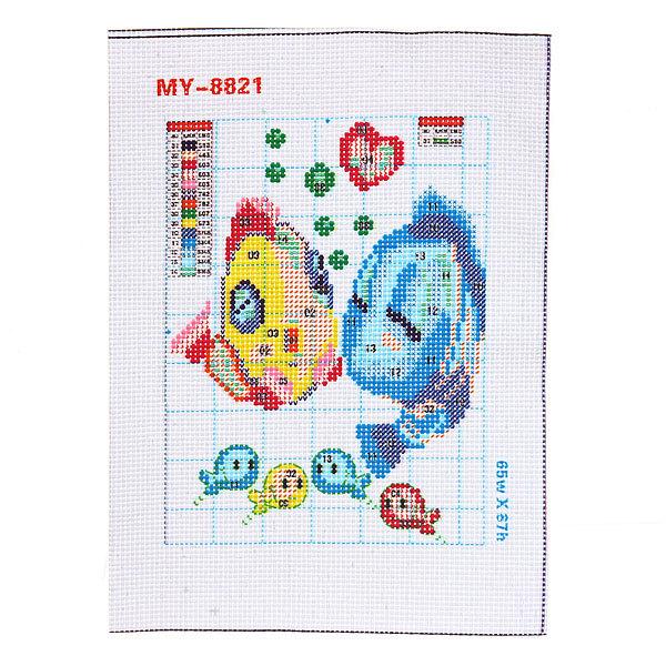 Набор для вышивания бисером 26*20,5см Рыбки MY8821 купить оптом и в розницу