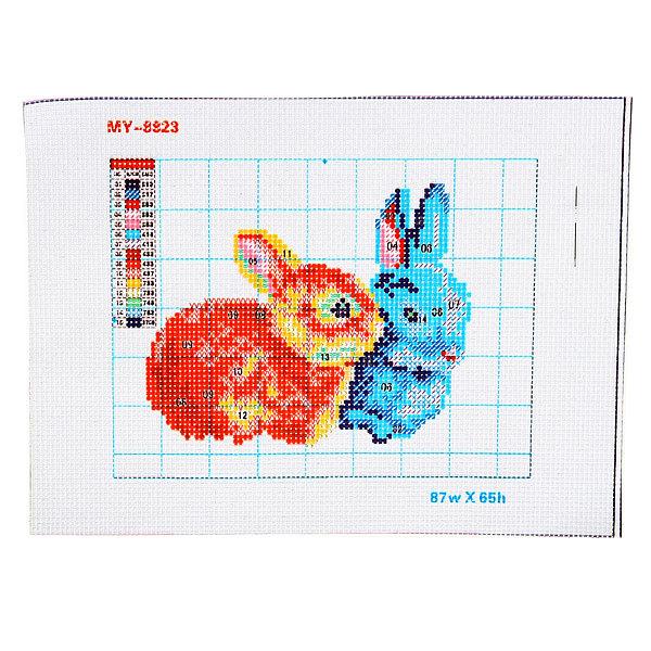 Набор для вышивания бисером 26*20,5см Крольчата MY8823 купить оптом и в розницу