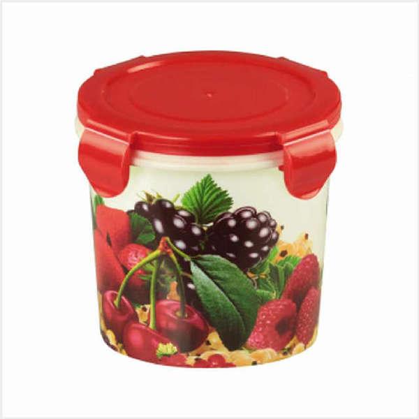 Банка для продуктов пластиковая ″Изюминка″ 0,7л. (ягоды) купить оптом и в розницу