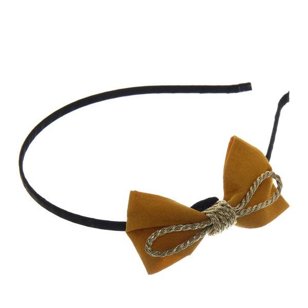 Ободок для волос ″Сиара - золотая тесьма″, цвет микс купить оптом и в розницу