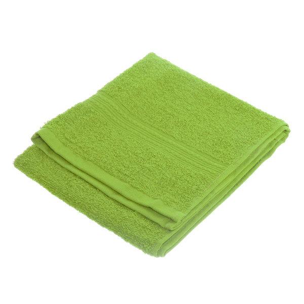 Махровое полотенце 40*70см зеленое ЭК70 Д01 купить оптом и в розницу