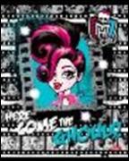 """Тетрадь 12л.кл.скрепка HATBER, """"Школа Монстров-(Monster High)"""", выб лак купить оптом и в розницу"""