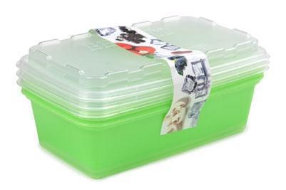 """Набор контейнеров для заморозки """"Zip"""" (киви)  *12 купить оптом и в розницу"""