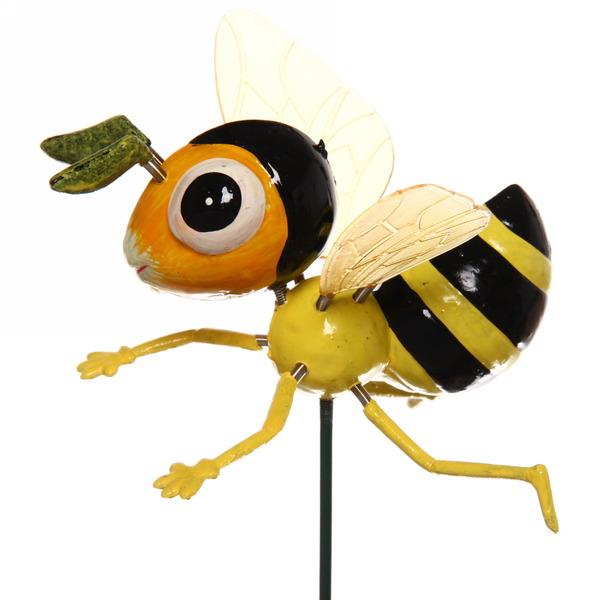 Садовая фигура на спице ″Пчелка″ купить оптом и в розницу