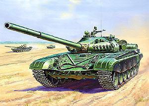 Сб.модель 3552 Танк Т 72А купить оптом и в розницу