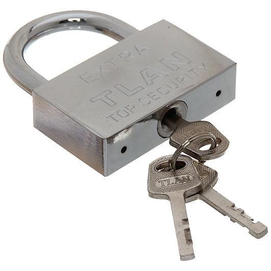 Замок навесной Экстра 66*81 мм, 3 ключа купить оптом и в розницу