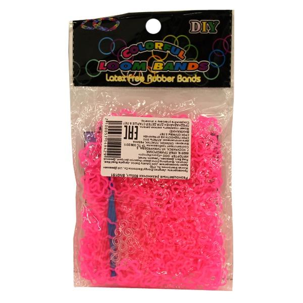 Набор ДТ Изготовление браслетиков Разноцветные 600 шт. 0151BN СМАЙЛЦЕНА купить оптом и в розницу