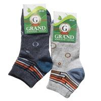 Носки женские GRAND, полоски на паголенке, цвет в ассортименте р. 23-25 купить оптом и в розницу
