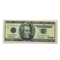 Магнит из пластика ″Валюта″ 20$ 135х65мм купить оптом и в розницу