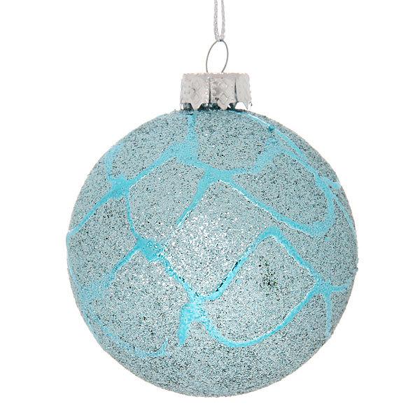 Новогодние шары ″Ледовый городок″ 6см (набор 6шт.) купить оптом и в розницу