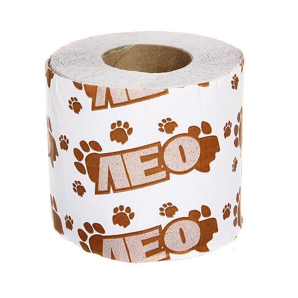 Бумага туалетная 1сл 1рул. ″Лео″ на втулке купить оптом и в розницу