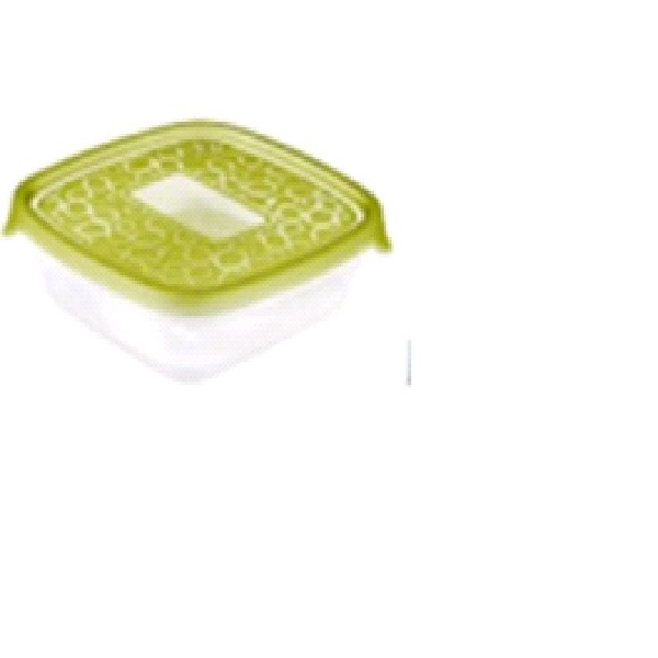Набор контейнеров для свч TAKE AWAY Curver 2  3X0,6L прозр.зел./ *12 шт. купить оптом и в розницу