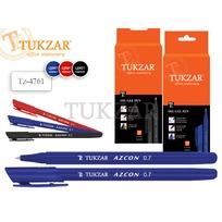 Ручка шарик. синяя трехгранный корпус 4761TZС купить оптом и в розницу