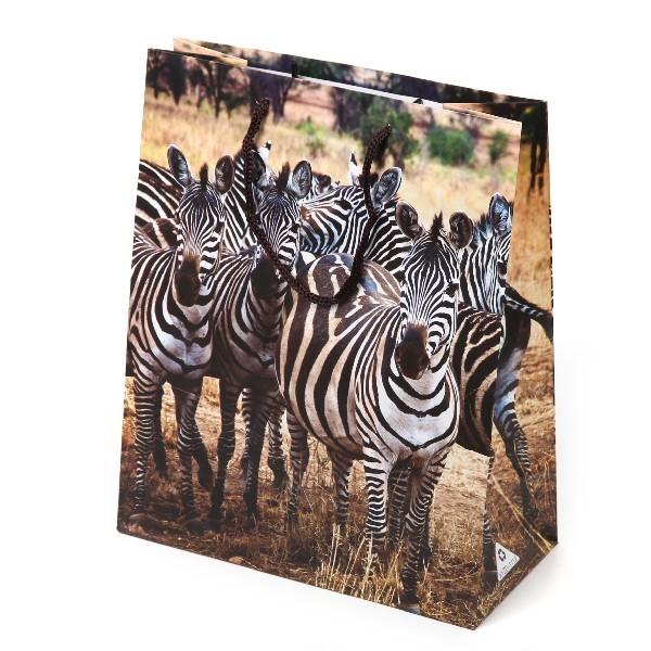 Пакет подарочный ″В мире животных″ 21*26*10 купить оптом и в розницу