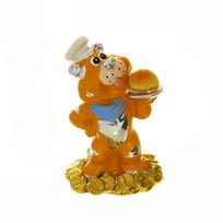 Фигурка из керамики ″Тигрюля- повар ″ 4 см RCV RL815012-1 купить оптом и в розницу