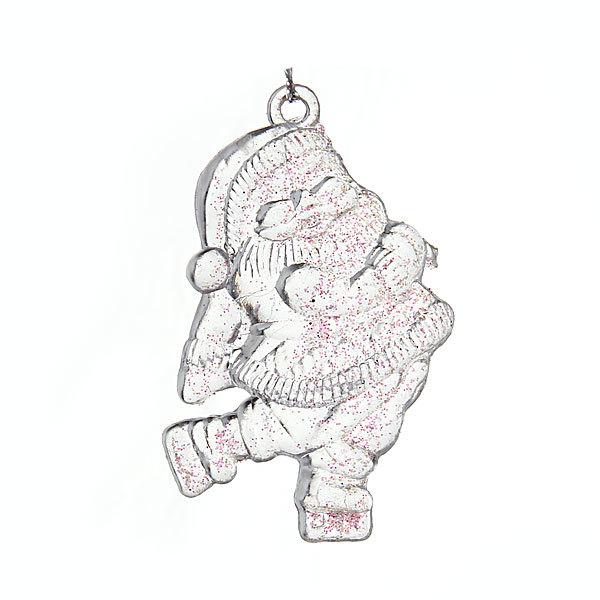 Ёлочные игрушки акриловые, набор 4 шт, 9см ″Колокольчик кристалл″ купить оптом и в розницу