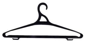 Вешалка для одежды 52-54 размер черная  *70 купить оптом и в розницу