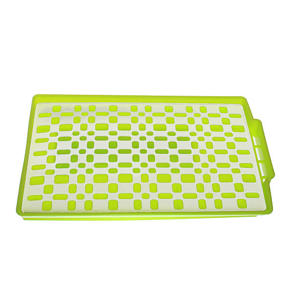 Сушилка для посуды 40*27*3см пластиковая YN 1153 купить оптом и в розницу