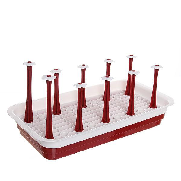 Сушилка для посуды 38,5*20*6см пластиковая купить оптом и в розницу