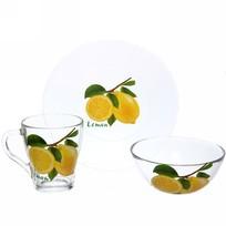 Набор посуды для завтрака ″Лимон″ 2 купить оптом и в розницу