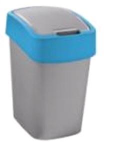 Контейнер для мусора 25 л FLIP BIN Curver серебрист./гол./*4 шт купить оптом и в розницу