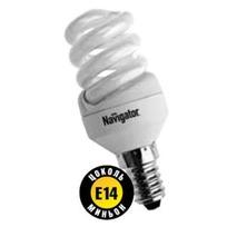 Лампа энергосберегающая Navigator NCL-SF10-11-2700K-E14 Т2 (12/108) купить оптом и в розницу