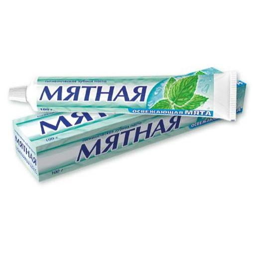 Зубная паста ″Мятная″ 170 гр купить оптом и в розницу