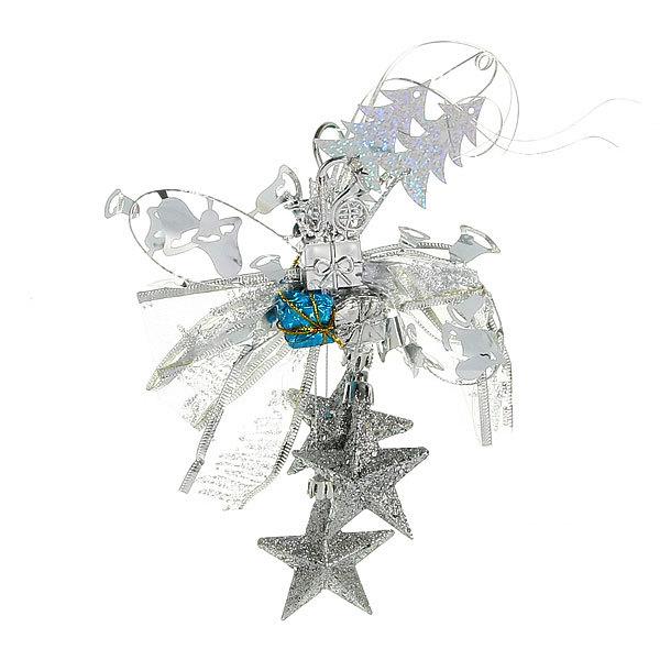 Елочная игрушка подвеска ″Подарки со звездами″ 28 см 2 цвета купить оптом и в розницу