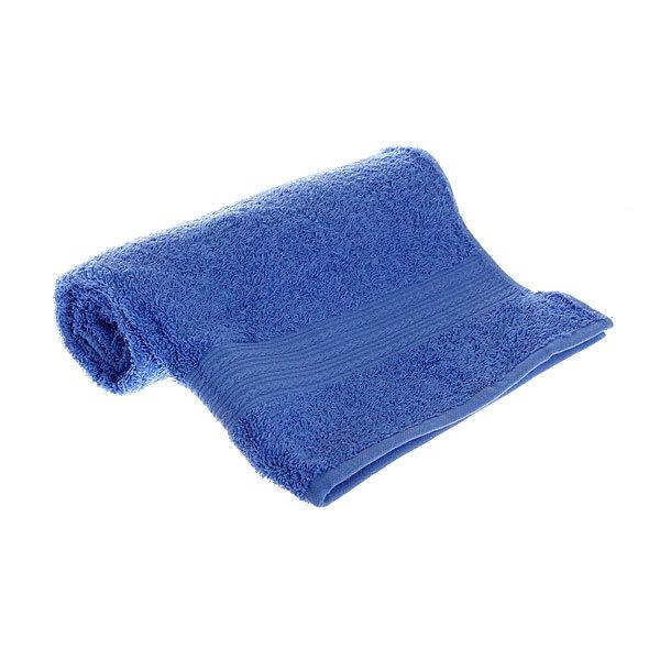 Махровое полотенце 50*90см голубое ЭК90 Д01 купить оптом и в розницу