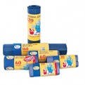 пакеты д/мусора 240 л./10 шт. ПВД (мультипласт) купить оптом и в розницу