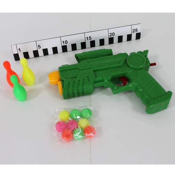Пистолет 506 с шариками в пак. купить оптом и в розницу
