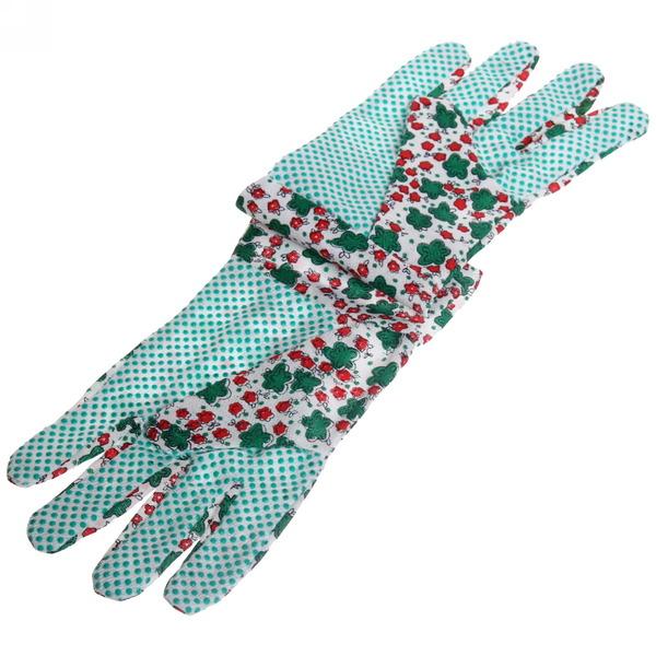 Перчатки садовые Полянка размер 9 х\б купить оптом и в розницу